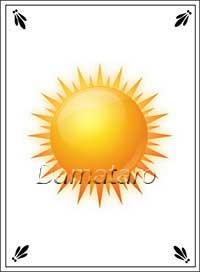 Екатерининское гадание Солнце