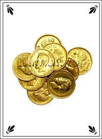 Екатерининское гадание Монеты