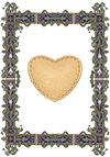 Картинка сердце - оракул аббата Фариа