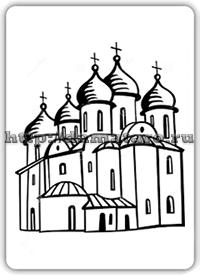 Изображение карты Церковь.