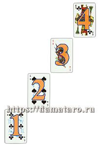 Гадание игральными картами - Шаг вперед