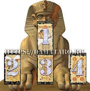 Ворожба online на Египетском Таро(Egyptian Tarot) - Сфинкс